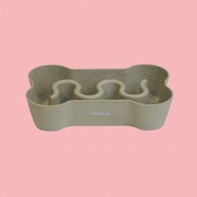 Gamelle anti-glouton bio chien